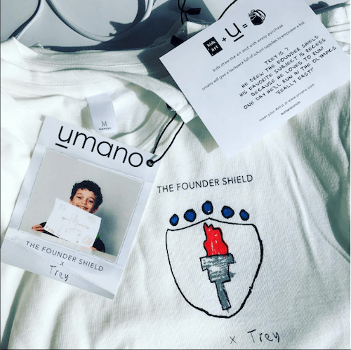 umano founder shield shirt