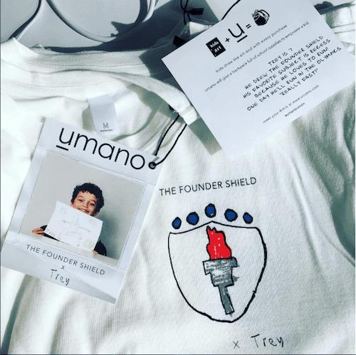 umano founder shield shirt
