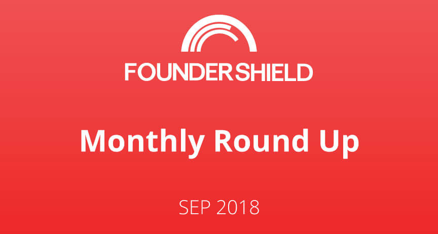 FS Monthly Roundup: September 2018
