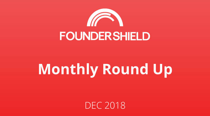 FS Monthly Roundup: December 2018