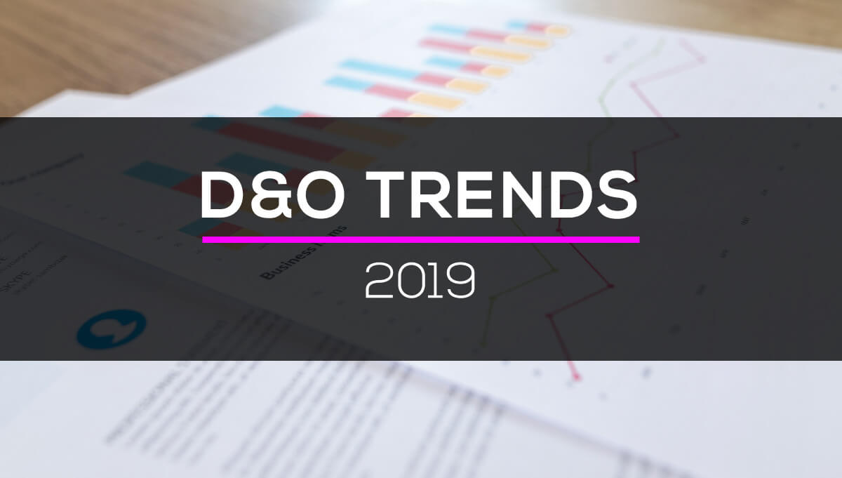 D&O Insurance Pricing Trends 2019
