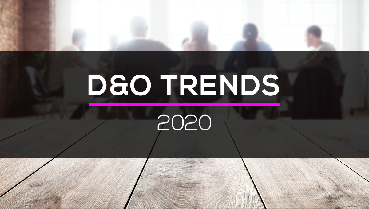 D&O Insurance Pricing Trends 2020