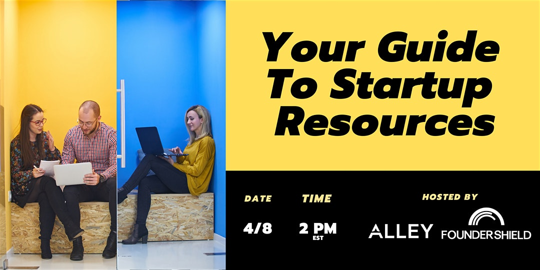 Webinar – Your Guide to Startup Resources