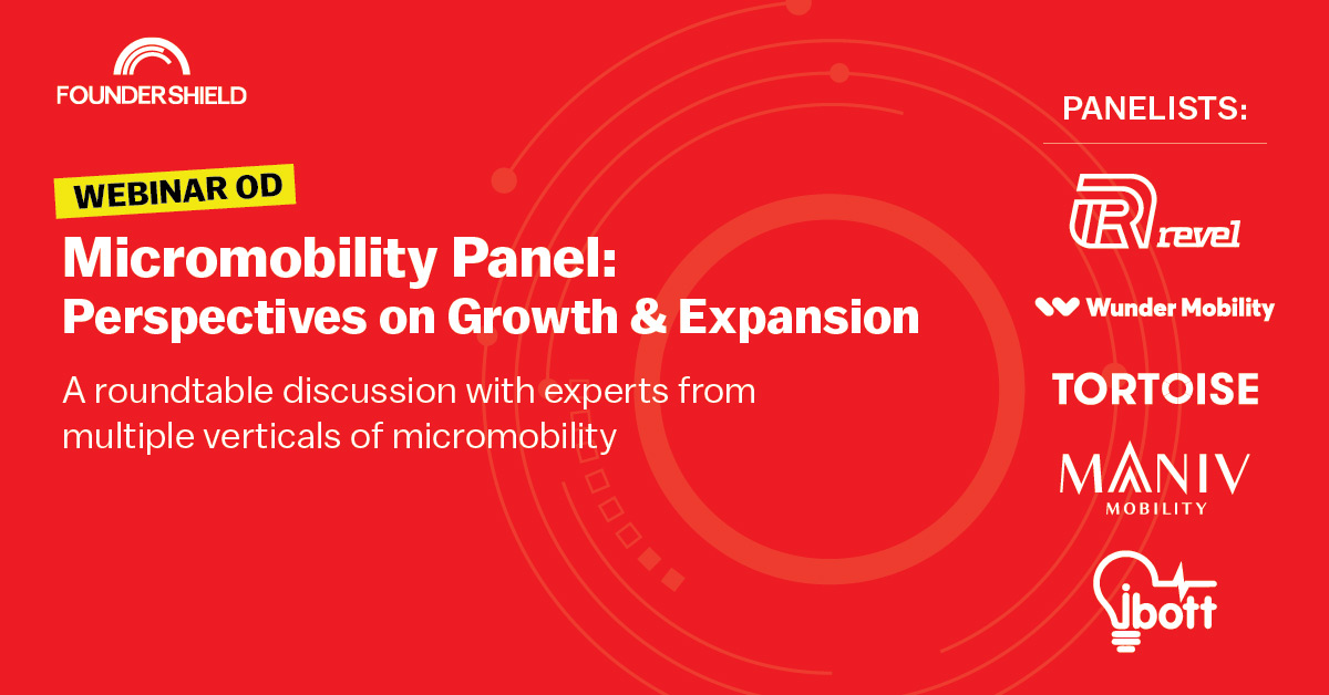 Webinar: Key Takeaways from the Micromobility Panel